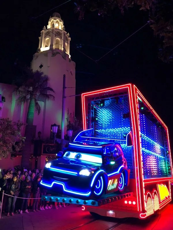 Pixar Fest at Disneyland - Paint the Night Cars