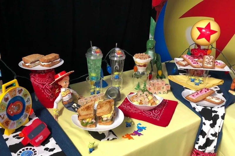 Toy Story Land Food from Woodys Lunch Box