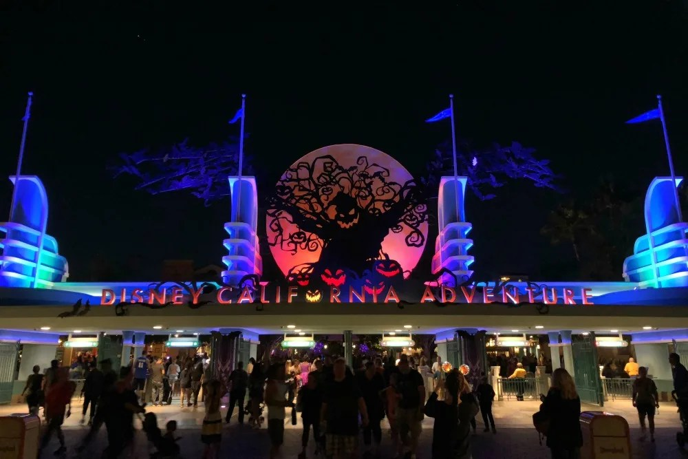 Disneyland Halloween Time - Oogie Boogie DCA Entrance