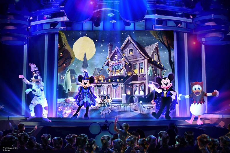 Disneyland Oogie Boogie Bash - Mickeys Trick and Treat Show