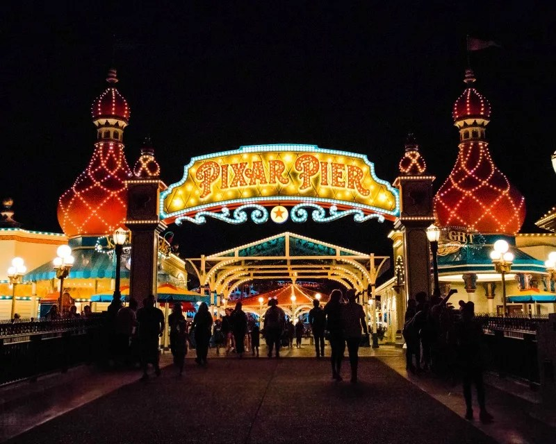New at Disneyland Fall Winter 2018 - Pixar Pier