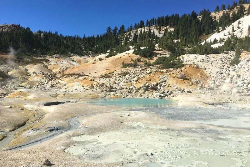 Volcano Road Trip - Lassen Volcanic National Park Bumpass Hell