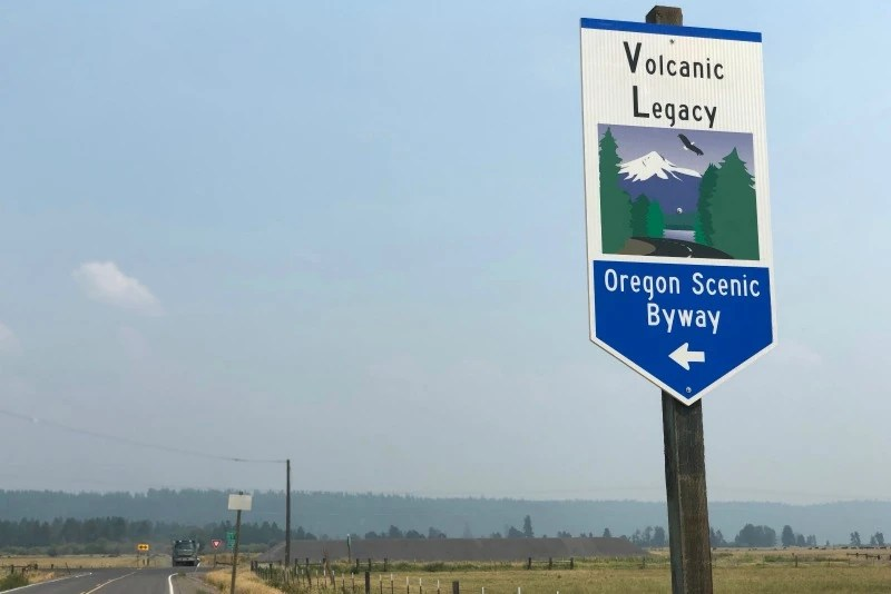 Volcano Road Trip - Volcanic Legacy Scenic Byway