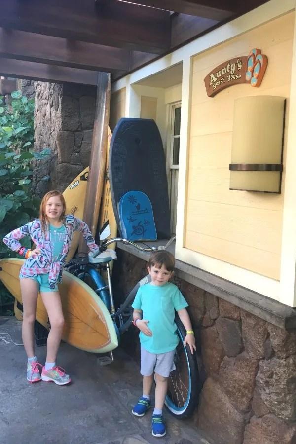Disney Cruise Line vs. Disney Aulani - Aunty's Beach House