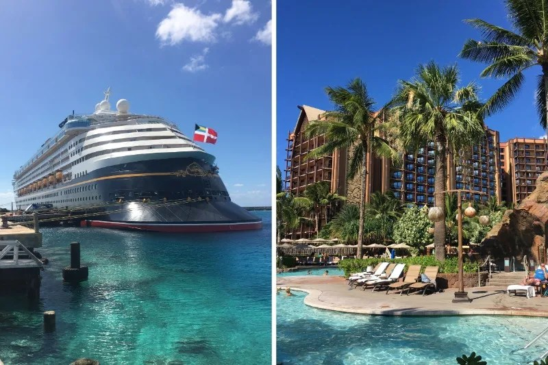 Disney Cruise vs. Aulani