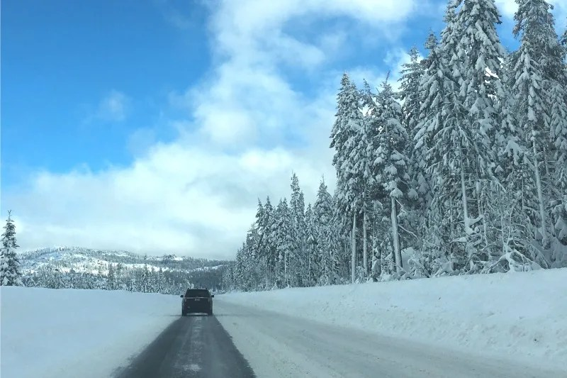 Winter Driving to Tahoe - Interstate 80