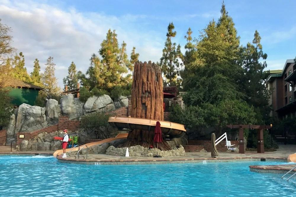 Disneys Grand Californian - Redwood Tree Pool
