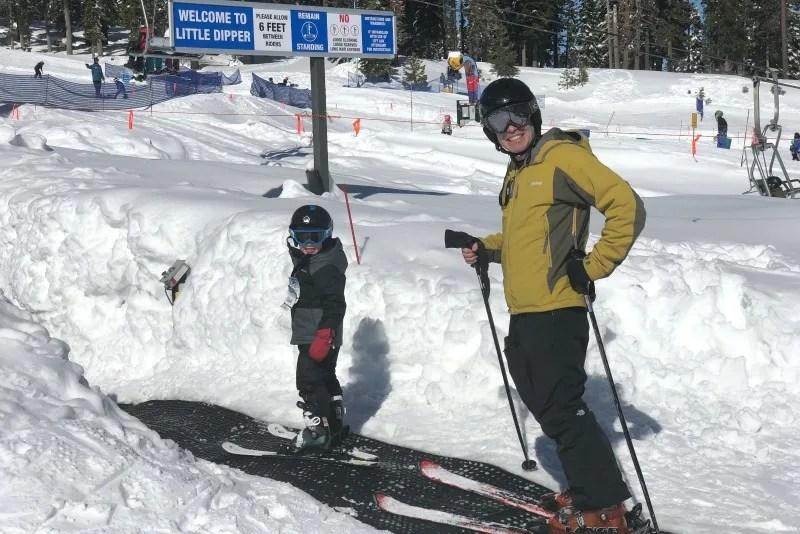 Kid-Friendly Ski Resorts - Father Son Magic Carpet