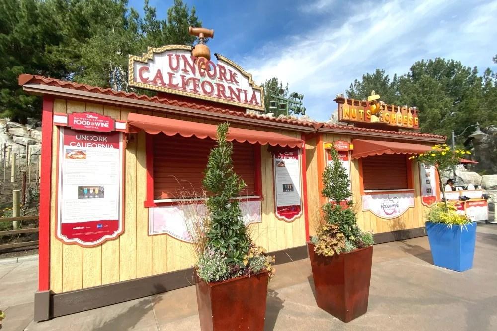 Disney California Adventure Food and Wine Festival Kiosks 2020