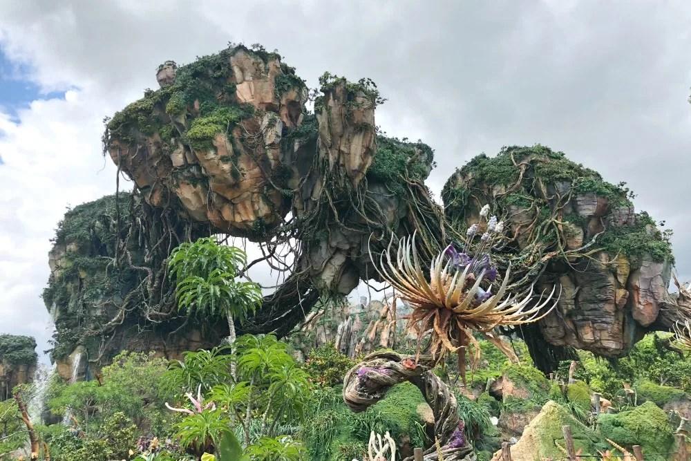Avatar Flight of Passage - Floating Islands in Pandora