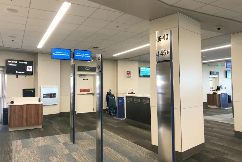 Southwest Hawaii Flight Review -Southwest G Gate Area in HNL