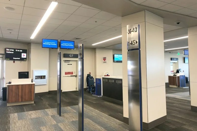 Southwest Hawaii Flight Review -Southwest G Gate Area in HNL