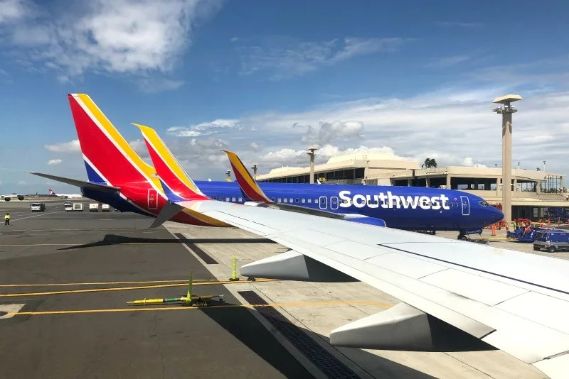 Southwest Hawaii Flight Review - Southwest Planes at HNL