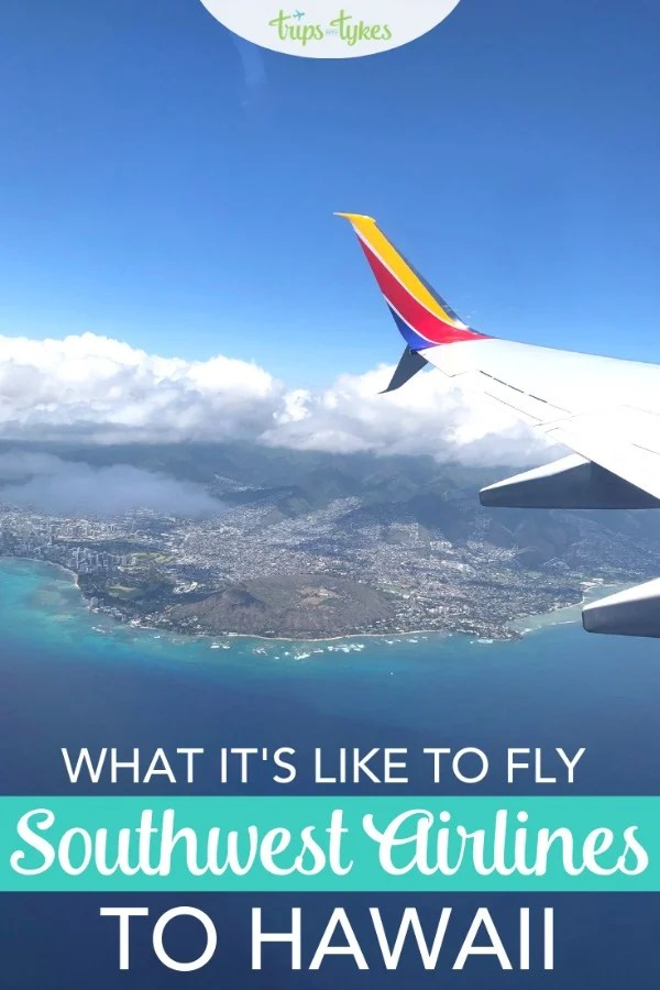 Curious about Southwest Airline's new Hawaii service? A flight review with a complete look at the food, amenities, and in-flight experience on Southwest to the Aloha State. #SouthwestSaysAloha #SouthwestStorytellers #Hawaii #Southwest