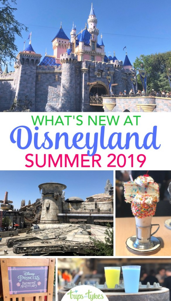 Planning a summer 2019 Disneyland vacation? Explore and get tips for all the new attractions, restaurants, and shows - including Star Wars: Galaxy's Edge, Tale of the Lion King, the new Disney Flex Pass annual pass, additions to Pixar Pier, and Black Tap shakes. #disneyland #starwarsgalaxysedge #downtowndisney #disney