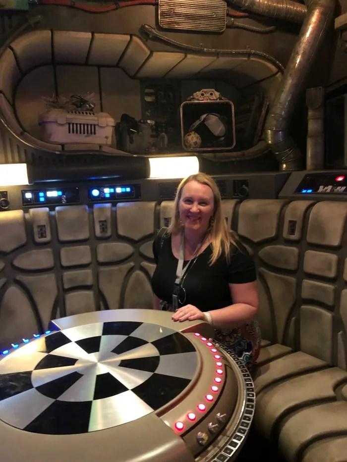 Star Wars Galaxys Edge Disneyland - Inside Falcon Dejarik Table