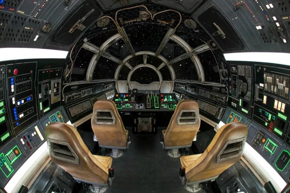 Star Wars Galaxys Edge Fun Facts - Millennium Falcon