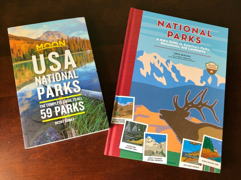 National Parks Book Giveaway