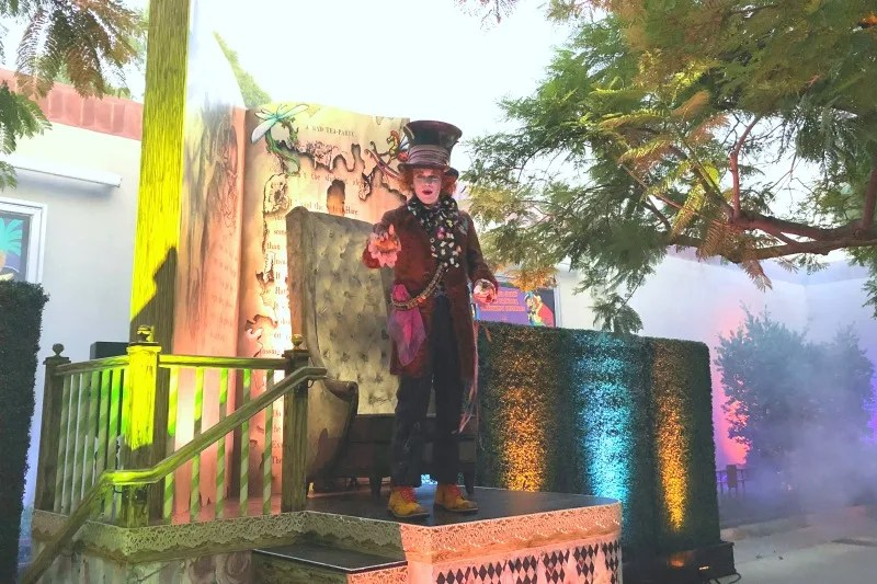 Disneyland Halloween Time - Mad Hatter Immersive Treat Trail Oogie Boogie Bash