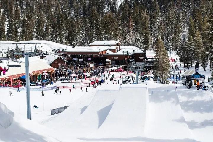 Sierra at Tahoe Slopes