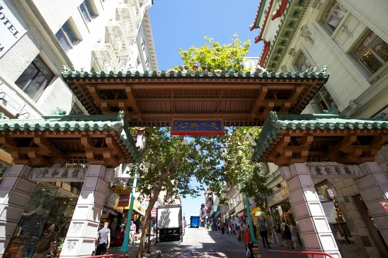 Chinatown Gate San Francisco