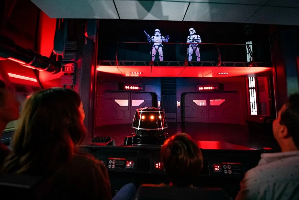 Star Wars Rise of the Resistance Attraction