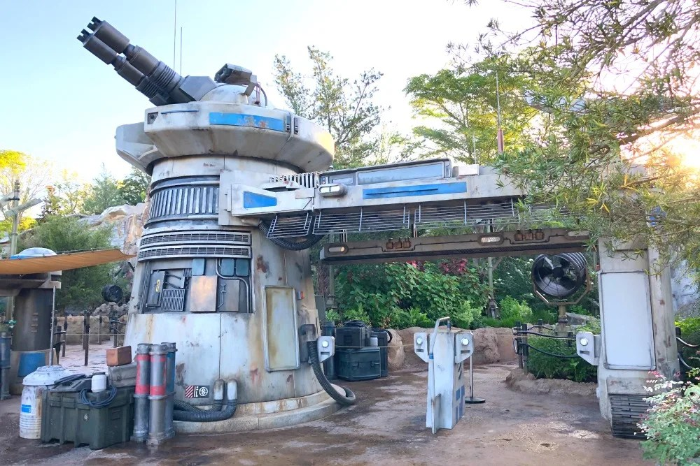 Star Wars Rise of the Resistance Entrance at Walt Disney World