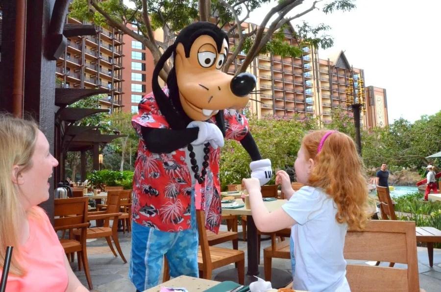 Disney Aulani Makahiki Character Breakfast