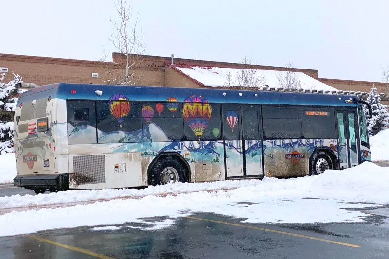 Park City Utah Transit Bus
