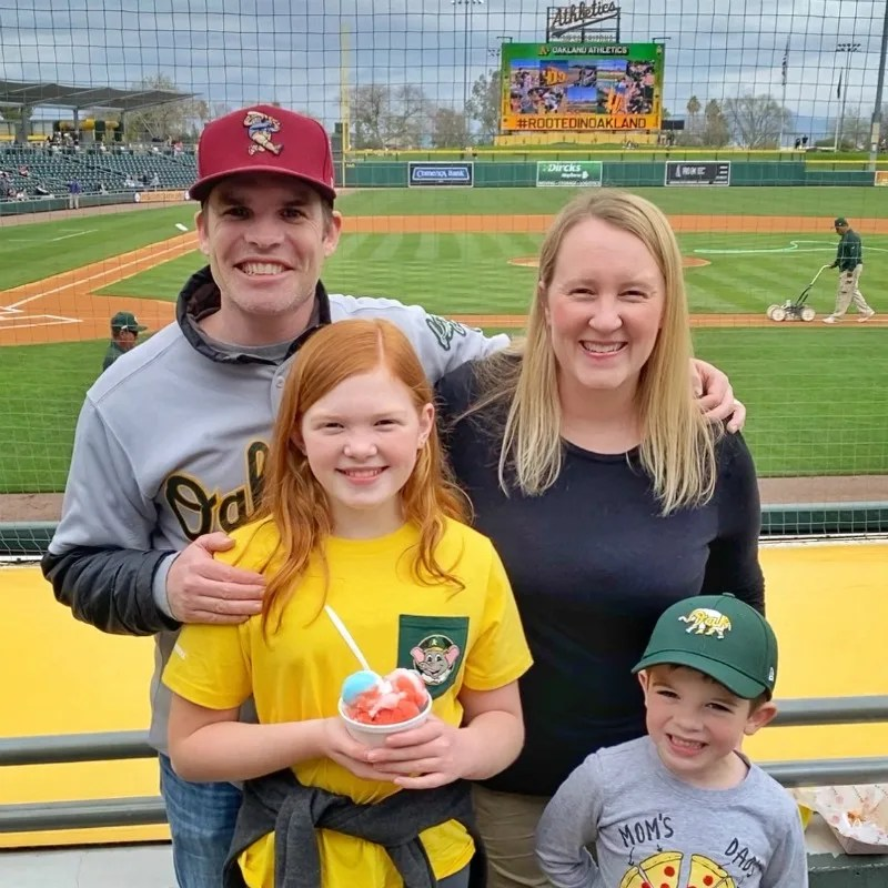 Cactus League Spring Training Oakland Athletics Family