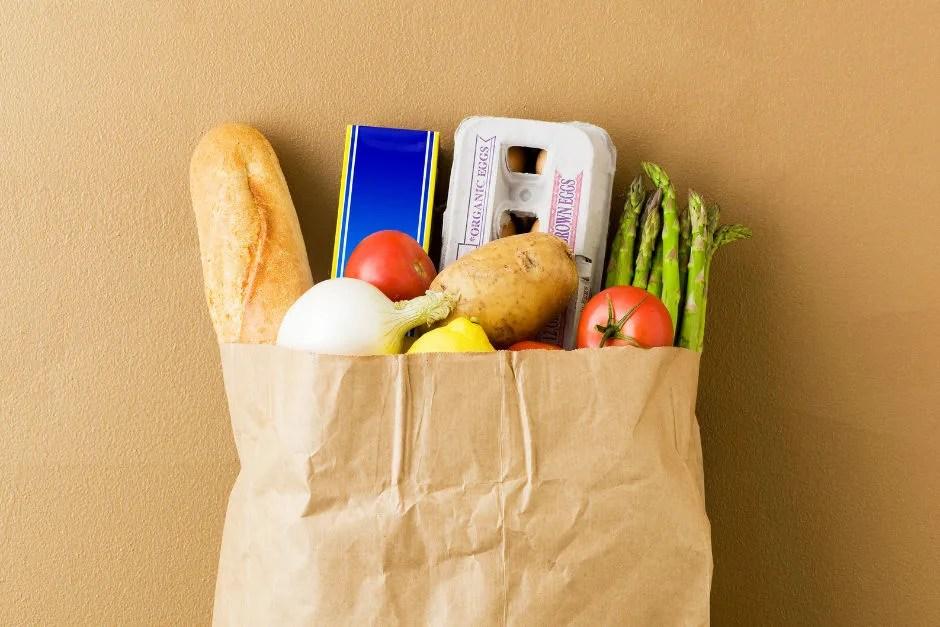 Grocery Bag Shopping List