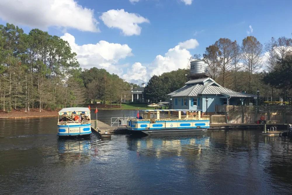 Disney World Transportation - Ferries