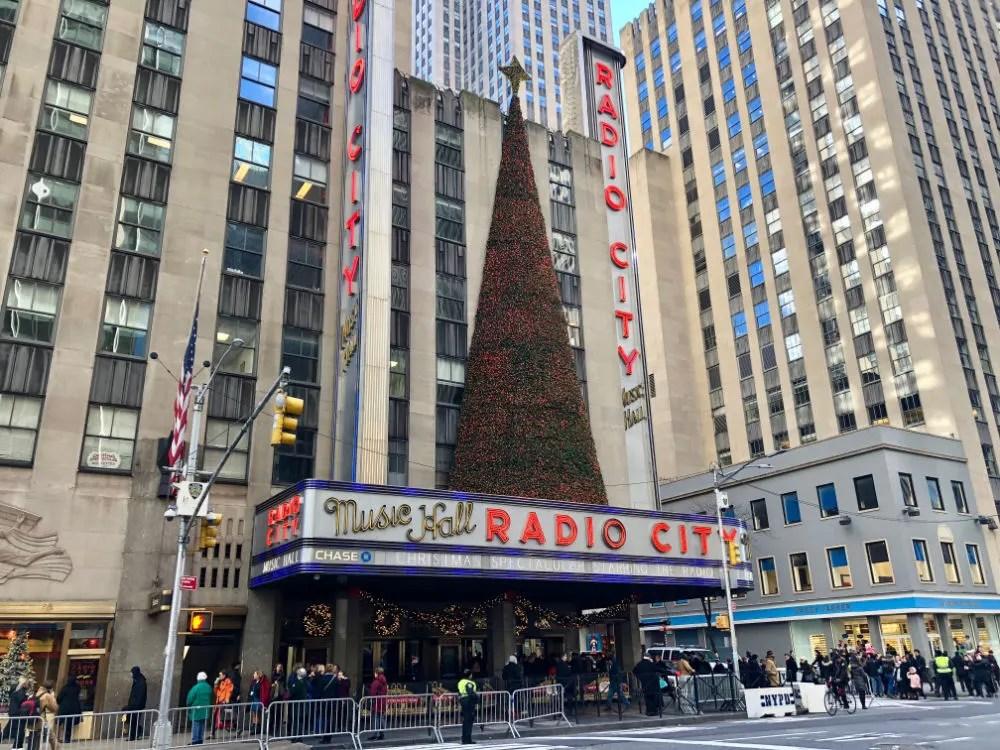 New York City Radio City Music Hall Christmas