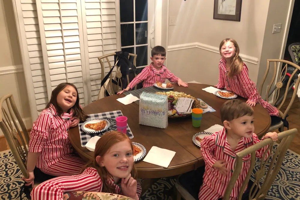 Visiting Cousins at Christmas in North Carolina
