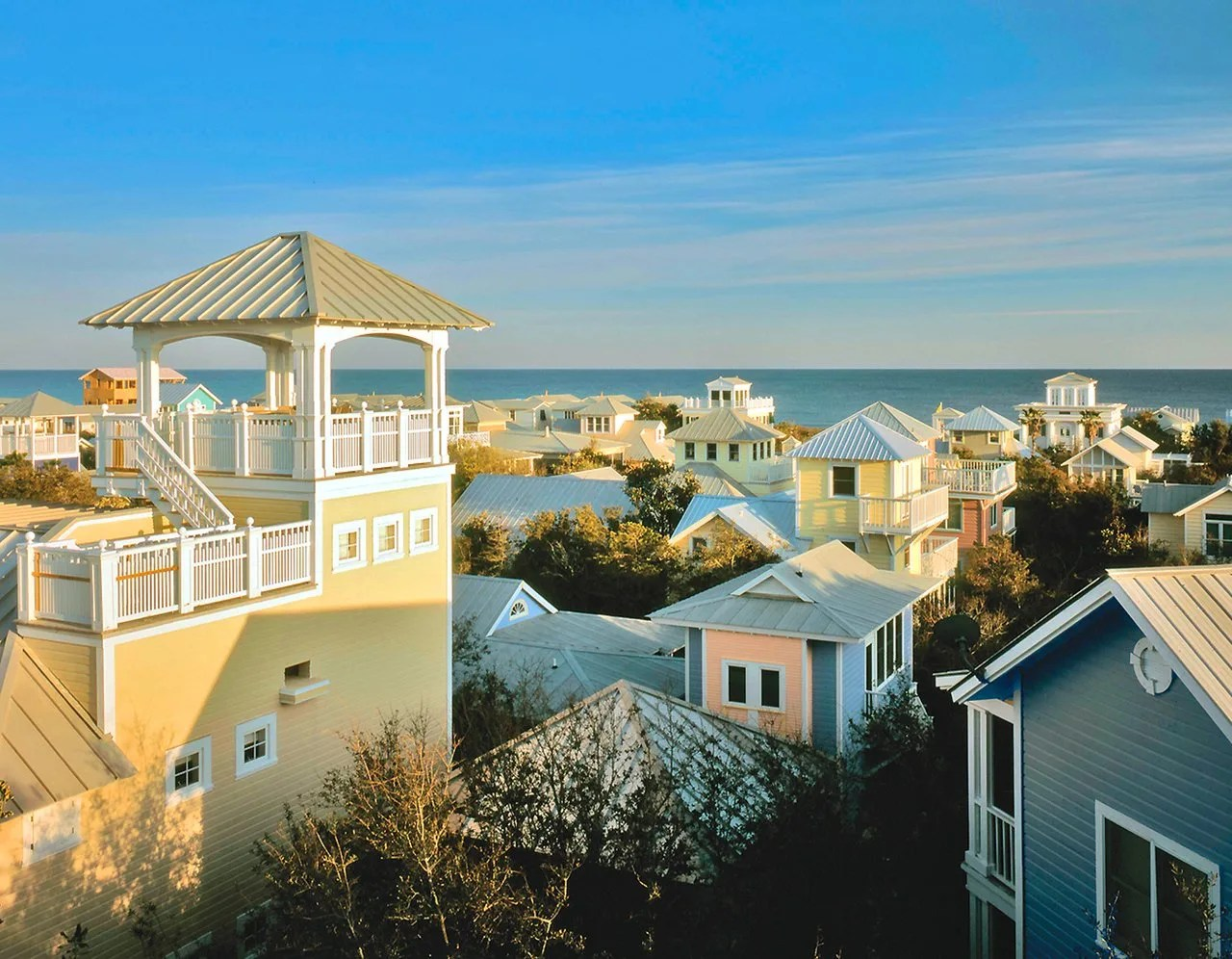 South Walton County Florida CVB - Seaside Roofscapes