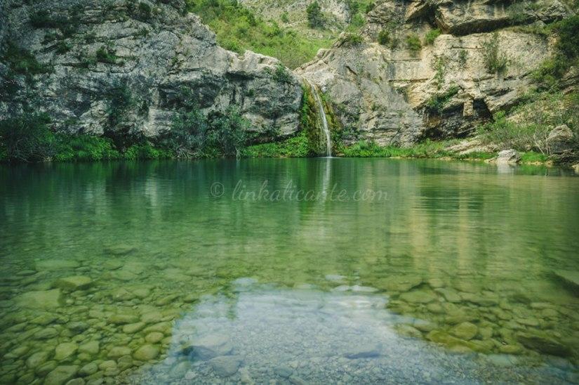 Barranc de l'Encantada route trail