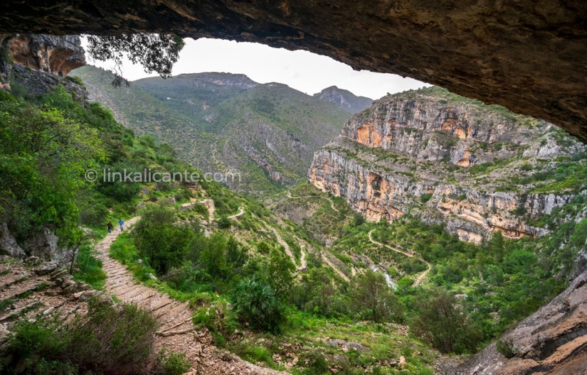 Barranc de l'Infern Loop Route, Vall de Laguar, PR-CV 147