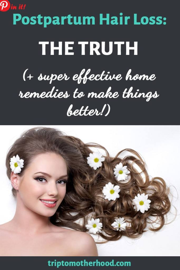 During pregnancy you enjoyed a nice boost in your hair volume but soon after delivery you started losing hair at a rapid speed. Yes, postpartum sucks and not only because you don't recognize your body. Here's the truth about postpartum hair loss. Learn super effective home remedies to make things better!
