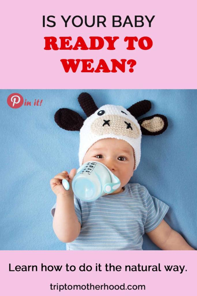 The weaning stage is a new milestone in the life of a growing baby. Learn when it's better to start weaning. How to do it easily. #breastfeedingtips #stopbreastfeeding #weaning #baby #motherhood