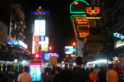 night in Khaosan
