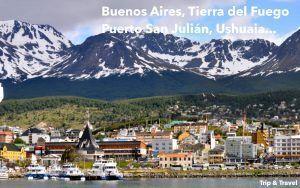 Oferta de viaje a Argentina, Tierra del Fuego, Ushuaia, glaciar Perito Moreno, El Calafate, Puerto San Julián, Comodoro Rivadavia, península Valdes, Puerto Madryn, Buenos Aires, Patagonia
