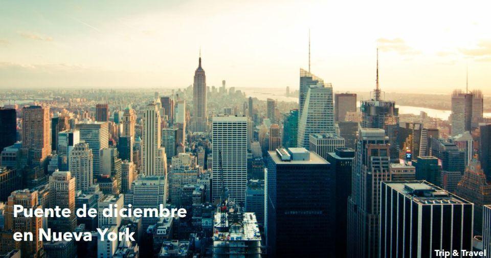 Puente de diciembre en Nueva York, New York, Estados Unidos de América, NY, EE.UU., viajes, vacaciones, hoteles, alquiler de coches, alojamiento, grupos organizados