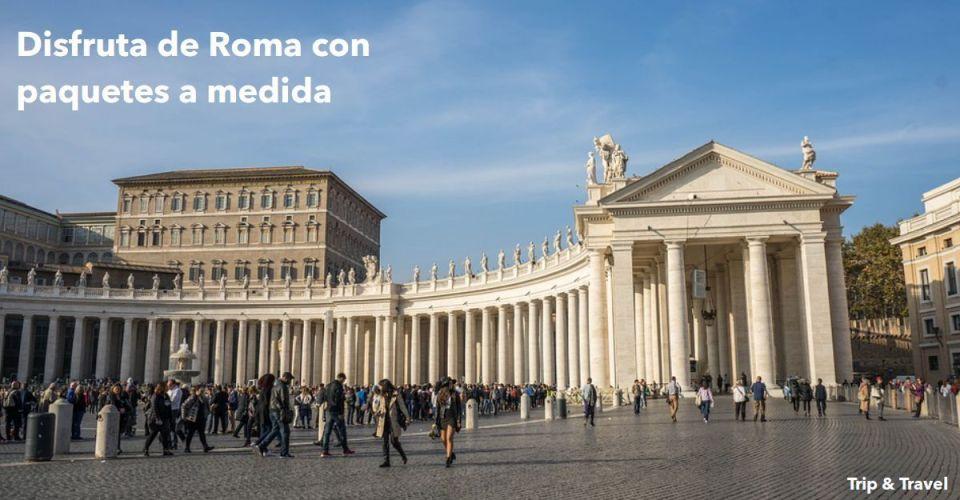 Puente de diciembre en Roma, hoteles, Italia, Europa, viajes, vuelos, paquetes de viaje, vacaciones, alquiler de coches, grupos organizados, lunas de miel