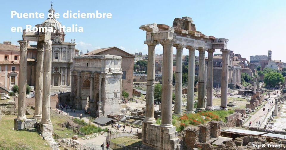 Puente de diciembre en Roma, Italia, vacaciones, Europa, hoteles, alquiler de coches, viajes, vuelos, paquetes de viaje, paquetes de grupo