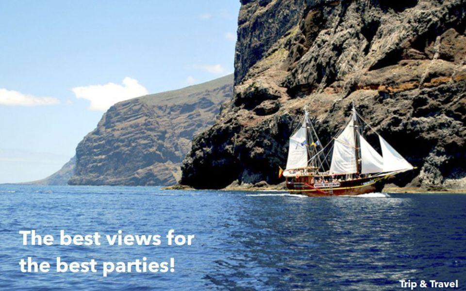 Tenerife Boat Party, trips, tours, tickets, hotels, reservations, restaurants, excursions, cheap, Puerto Colón, Playa de las Américas, Puerto de la Cruz, events, Spain