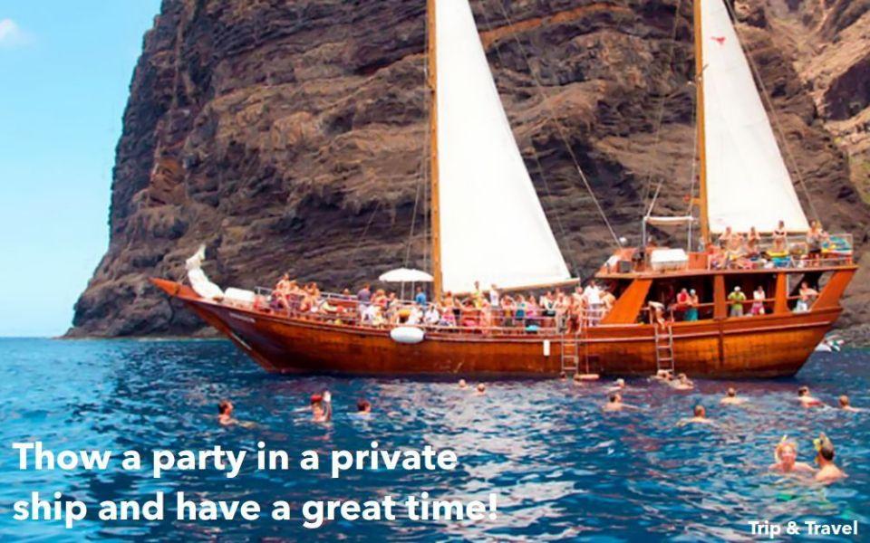 Tenerife Booze Cruise, excursions, tickets, events, cheap, tours, trips, hotels, reservations, restaurants, Puerto de la Cruz, Playa de las Américas, Puerto Colón, Spain