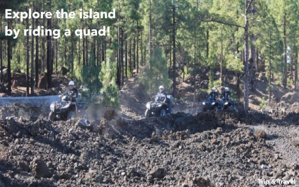 Tenerife Excursions Quad, holidays, tickets, hotels, reservations, Canary Islands, Spain, restaurants, Masca, Los Gigantes, trekking, paragliding, fishing, whales watching