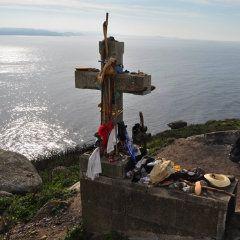 Camino de Santiago en cinco días hasta Finisterre, hoteles, hostales, pensiones, casas rurales, vacaciones, La Coruña, Negreira Cee, Alveiroa