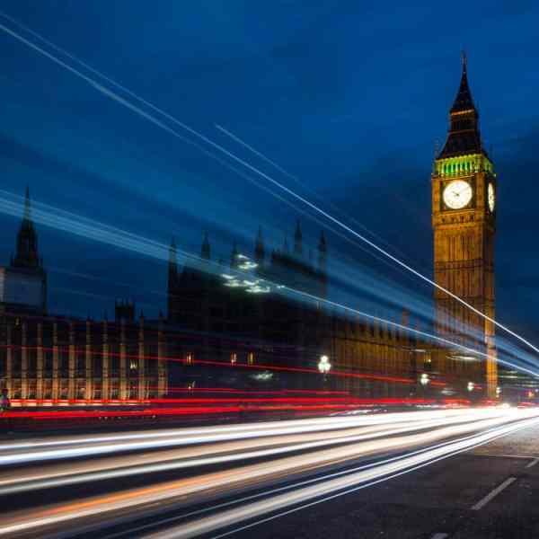 Westminster london lights