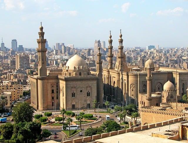 Mezquita en el Cairo Egipto